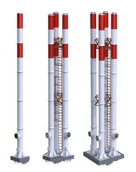 Предохранительный термостат дымовых газов природном сжиженном